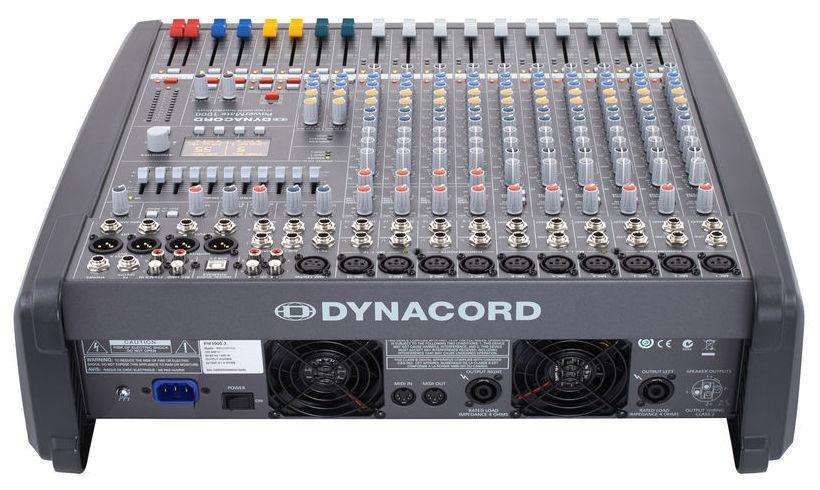 Dynacord Powermate 1000 3 Инструкция