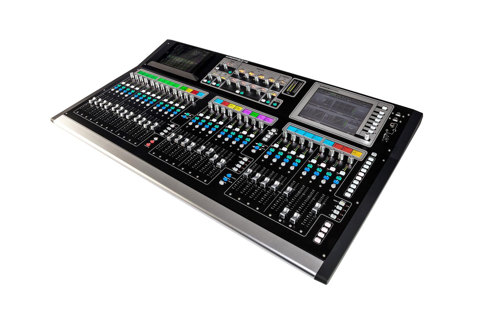 allen heath gld 112 chrome concert sound. Black Bedroom Furniture Sets. Home Design Ideas