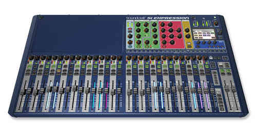 Soundcraft Si Expression 3 Digital Live Sound Mixer SCR0564