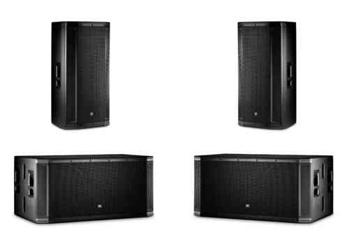 JBL 2x SRX835P 2x SRX828SP Active Speaker Package