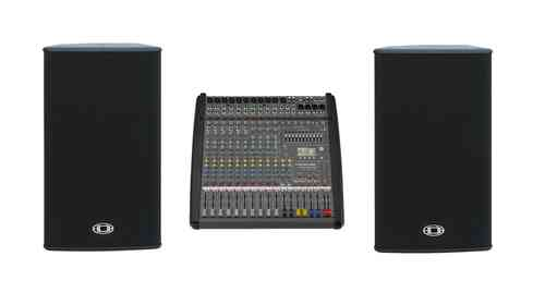 Dynacord Powermate1000-3 2x VL152 Bundle