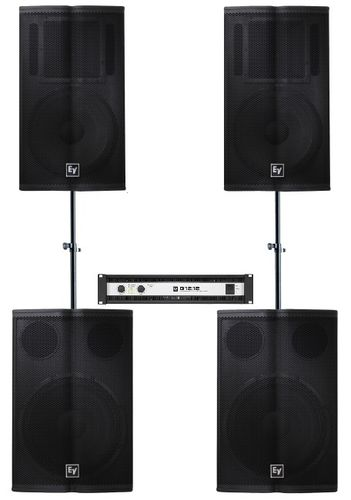 Electro-Voice 2x TX1152 2x TX1181 1x Q1212 Package